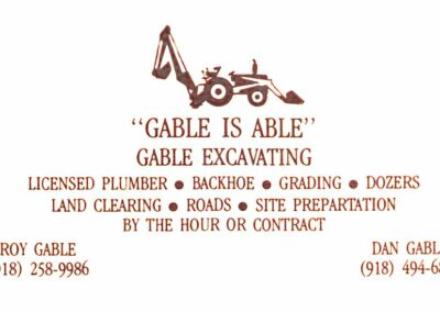 Gables Excavating Utility Contractor Tulsa 017